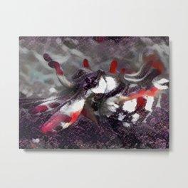 "Unity and Unrest in Q Phia's ""Flamboyant Cuttlefish"" Metal Print"