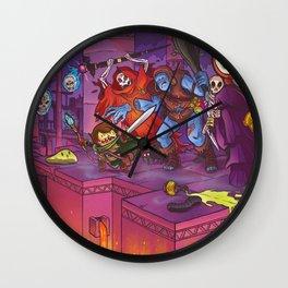Perils of Delver Wall Clock