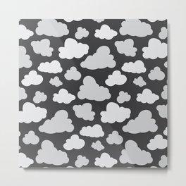 cloudy camo Metal Print