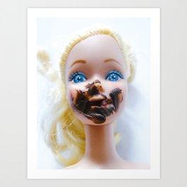 Chica chocoholica Art Print