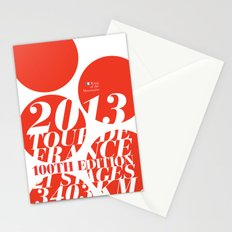 King of the Mountains: Tour de France 2013 Stationery Cards