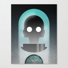 Mr. Freeze Canvas Print