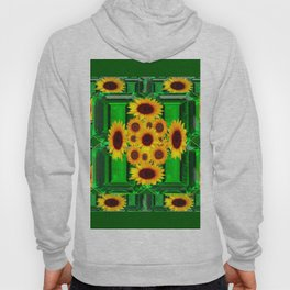 SPRING GREEN YELLOW FLOWERS  ART DECORATIVE  DESIGN Hoody