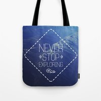 tote Tote Bags featuring tote by Jamie de Leeuw