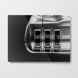 classic mustang light Metal Print