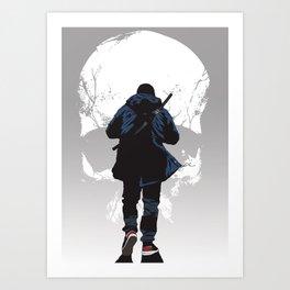 Closer to death Art Print
