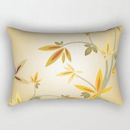 Abstract Asian Garden Rectangular Pillow