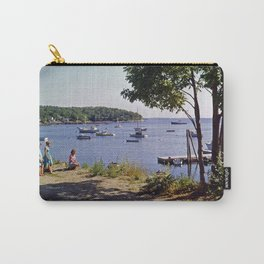 Marion Village in Rockport / Camden, Maine in the early 1960's. Carry-All Pouch