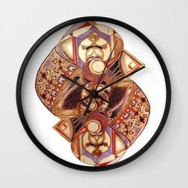 Cyclic Three Wall Clock