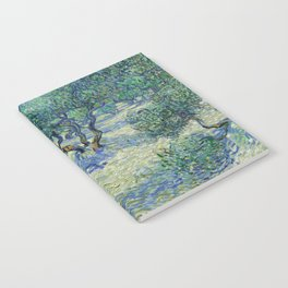 Olive Orchard by Vincent van Gogh Notebook