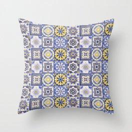 Talavera Ceramics Throw Pillow