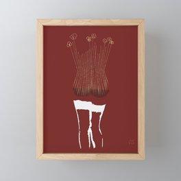 Bourbon Framed Mini Art Print