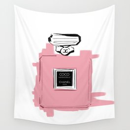 Pink perfume #6 Wall Tapestry