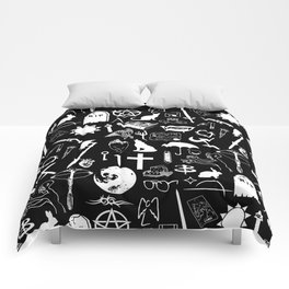 Buffy Symbology, White Comforters