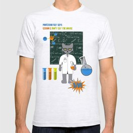 Professor Cat T-shirt
