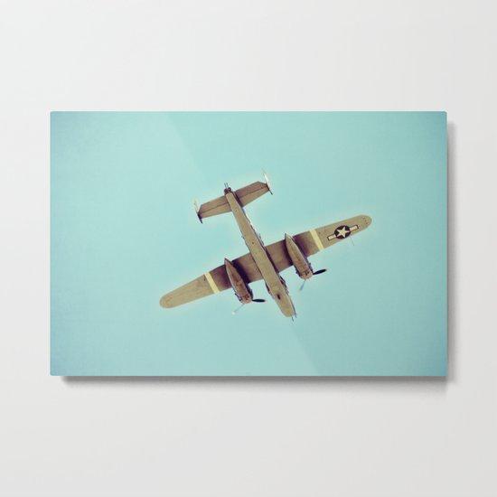 B-25 bomber Metal Print
