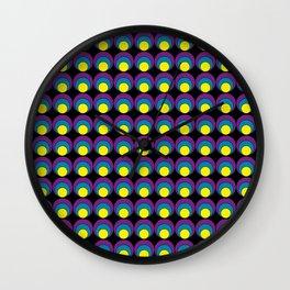 Circle pattern #1 Wall Clock