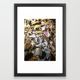 Broken Ideas Framed Art Print