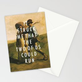 Run to Work Stationery Cards