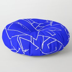 BluE humble Floor Pillow