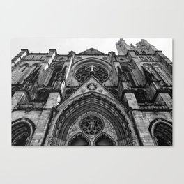 Cathedral Church of St. John the Divine VI Canvas Print