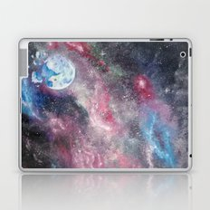 Space and the Moon Laptop & iPad Skin