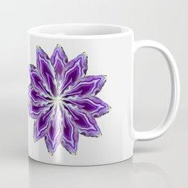 Agate flower spokes (two wheels) Coffee Mug
