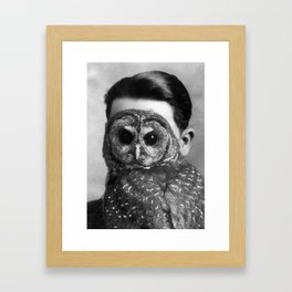 Unknown (Man) Portrait Framed Art Print