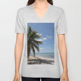 Isla Saona Caribbean Paradise Beach Unisex V-Neck