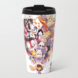 Undertale heart Travel Mug