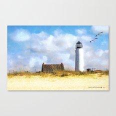 St. George Island Lighthouse Canvas Print