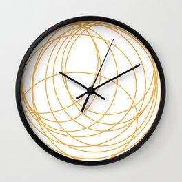 Orbits Wall Clock