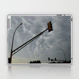 Mammatus Clouds and Stoplights Laptop & iPad Skin