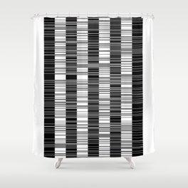 Black & white stripes Shower Curtain