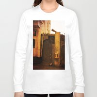 gumball Long Sleeve T-shirts featuring Gumball Machine Grunge by Fine2art