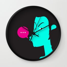 La movida Wall Clock