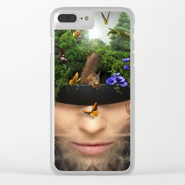 A Fantasy Land In Your Head Clear iPhone Case