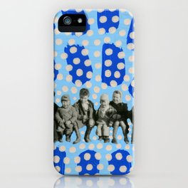 Kids With Guns iPhone Case