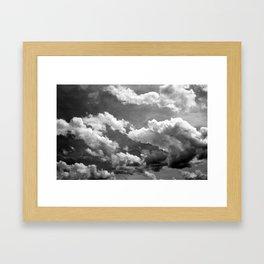Cloudy 2 Framed Art Print