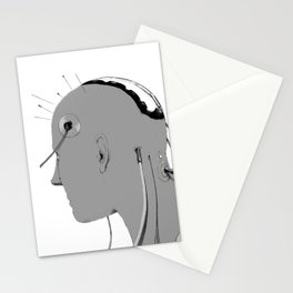Cybernetic Coma Stationery Cards