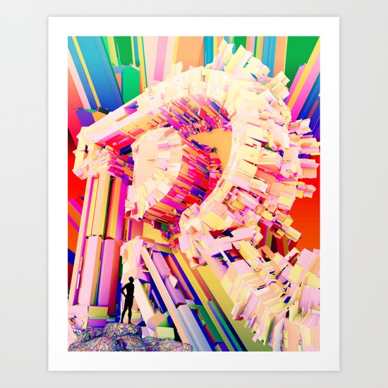 No. 26 Zine - Letter R Art Print