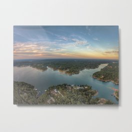Smith Lake Metal Print