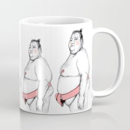 Sumo Wrestler Coffee Mug