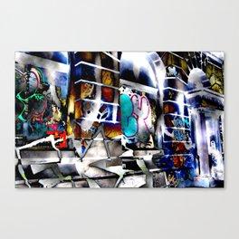 Bowery Graffiti Canvas Print
