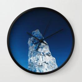 Crystal Skies Wall Clock