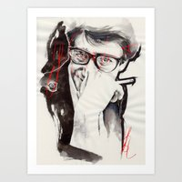 ysl Art Prints featuring YSL by Mitja Bokun