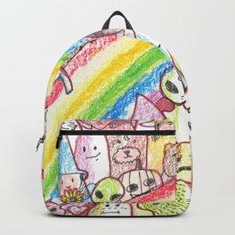 kawaii rainbow party Backpack