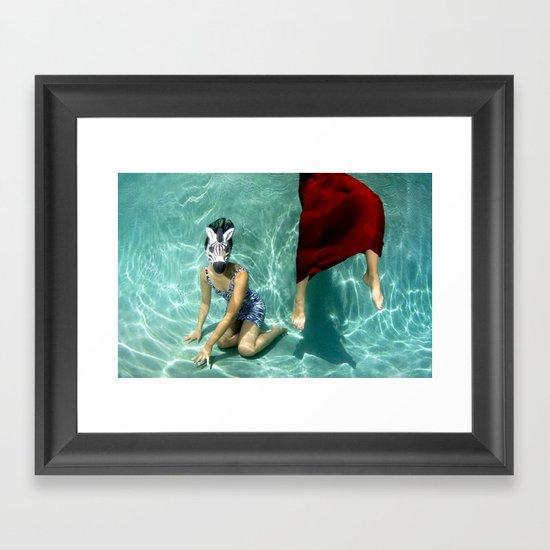 The Handler Framed Art Print