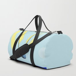 Flying with May towards the West in May - shoes stories Duffle Bag