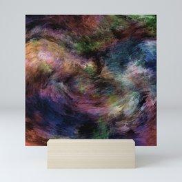 Turbulent thoughts abstract Mini Art Print